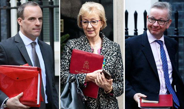 Andrea Leadsom and Dominic Raab join Tory leadership race as Michael Gove tipped to throw hat in ring