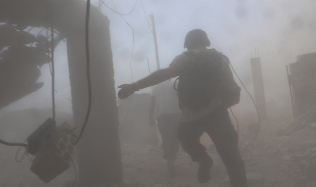 Sky News crew deliberately targeted and fired at by Syrian regime forces