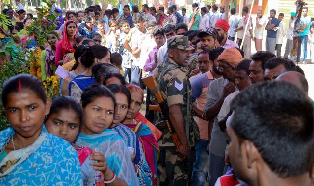 India election: Final votes cast in world's biggest poll