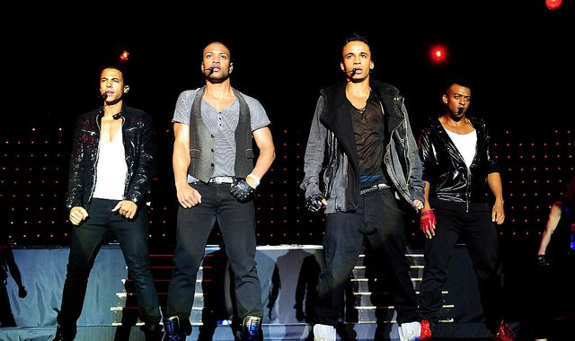 JLS reunite for comeback tour seven years after splitting up