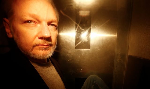 Julian Assange to be kept in prison after sentence ends due to 'history of absconding'