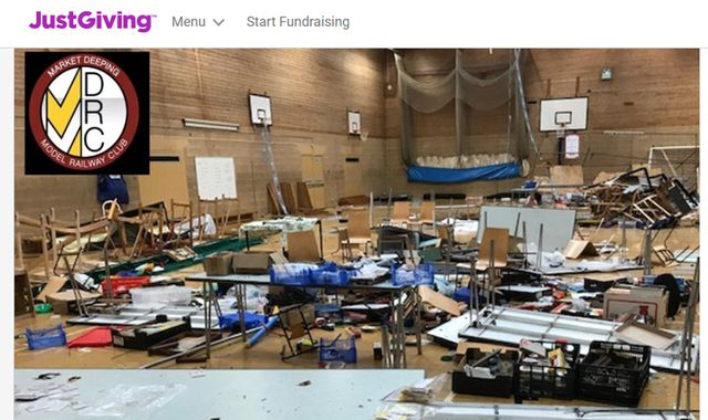 Model railway club raises £30,000 after exhibition trashed by vandals
