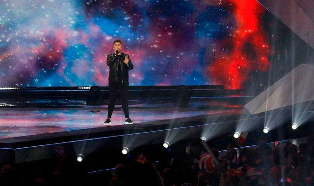 UK's Eurovision entry gets points knocked off