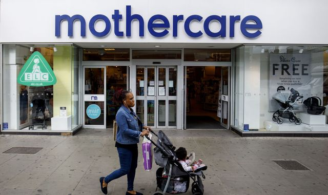 Mothercare sees 'improving UK trends' as losses leap
