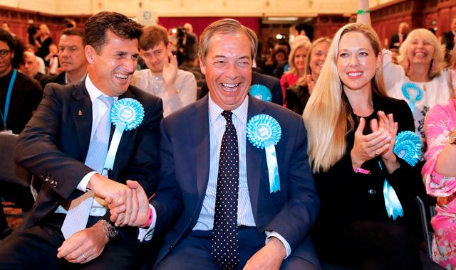 EU elections: Tories and Labour suffer as Brexit Party triumphs