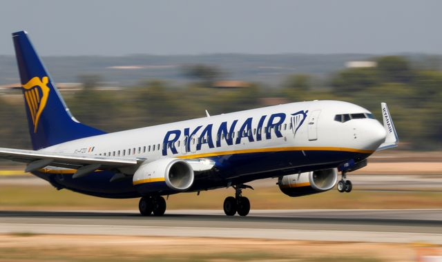 Ryanair says flights running normally despite UK pilots' strike