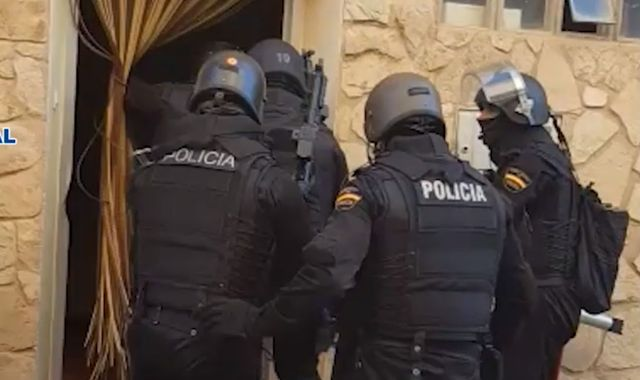 Police in Spain seize record crystal meth haul during raids