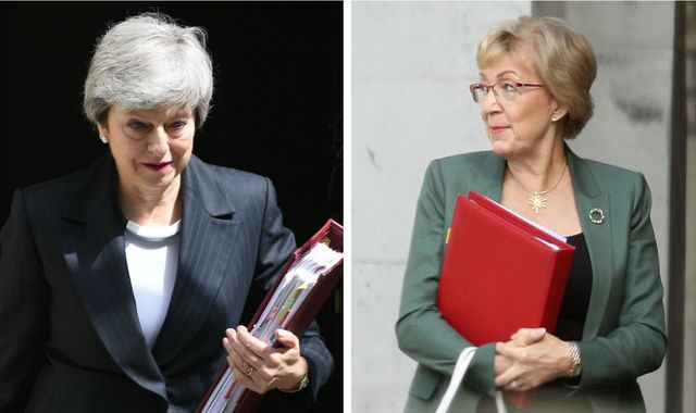Brexiteer minister Andrea Leadsom quits cabinet as Theresa May hangs on
