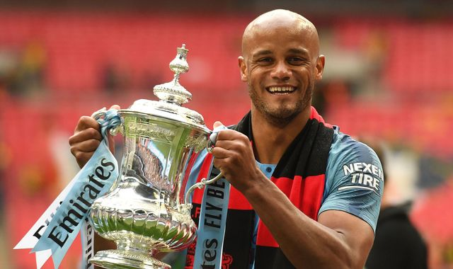 Vincent Kompany: Manchester City captain leaves club a day after team win domestic treble