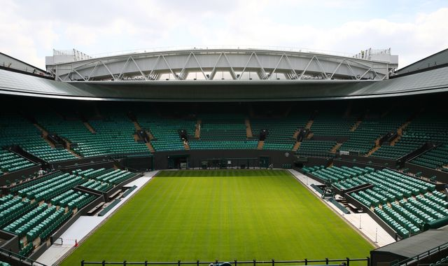 Wimbledon: No 1 court roof unveiled with star-studded ceremony