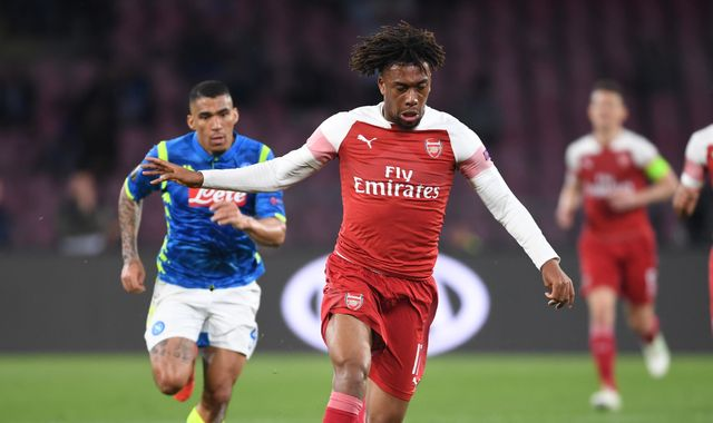 Alex Iwobi says if Arsenal sign Wilfried Zaha, he may seek transfer