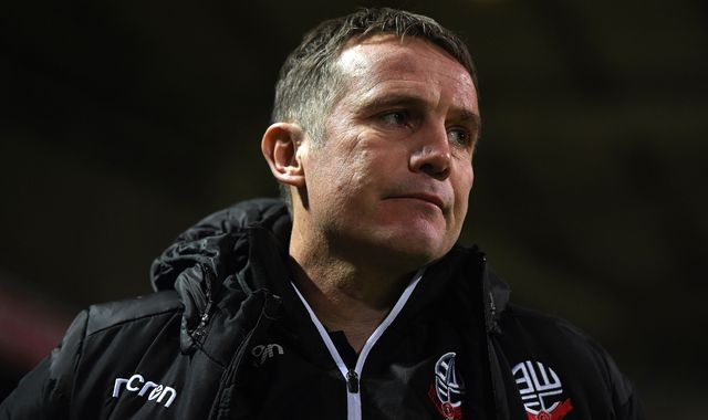 Phil Parkinson resigns as Bolton manager