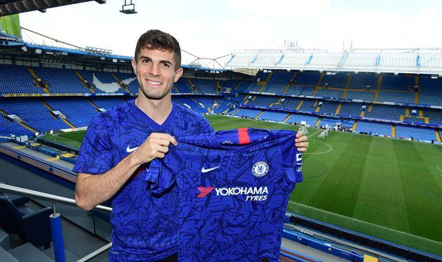 Christian Pulisic aspiring to emulate Eden Hazard at Chelsea