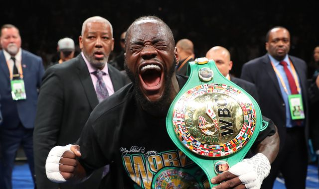Deontay Wilder win  'fuels' demand for Anthony Joshua showdown, says Barry Hearn