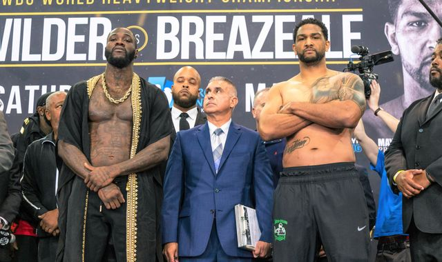 Wilder vs Breazeale: Deontay Wilder can reignite Anthony Joshua rivalry with a win over Dominic Breazeale