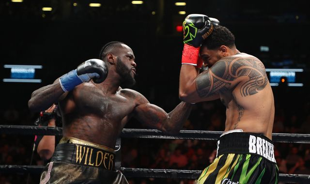 Joshua vs Ruiz Jr: Deontay Wilder's stunning knockout will have caught Anthony Joshua's attention