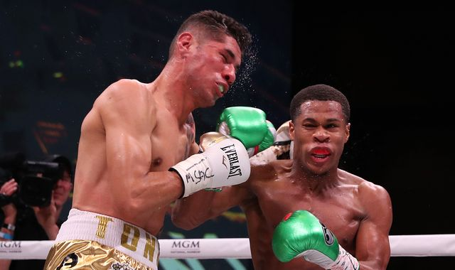 Sky Live: Devin Haney stops Antonio Moran with stunning knockout win to underline world title credentials