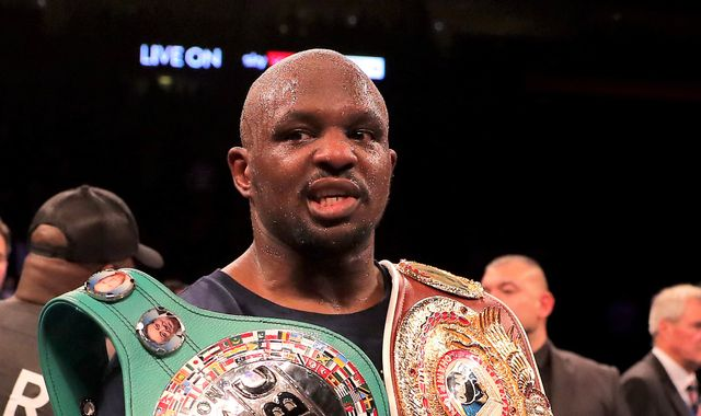 Whyte vs Rivas: Dillian Whyte questions Tyson Fury's comments about possible fight