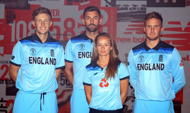 Pick your favourite England Cricket World Cup kit