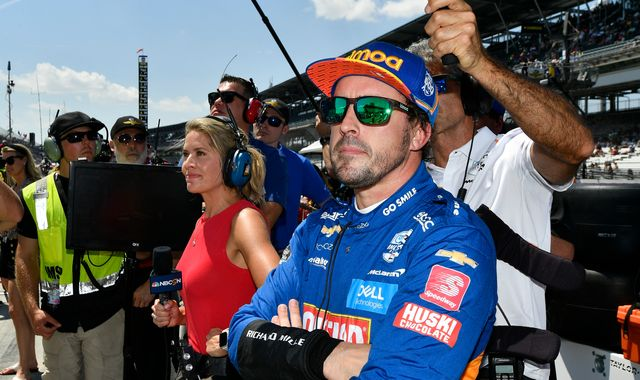 Fernando Alonso faces second day to qualify for Indy 500