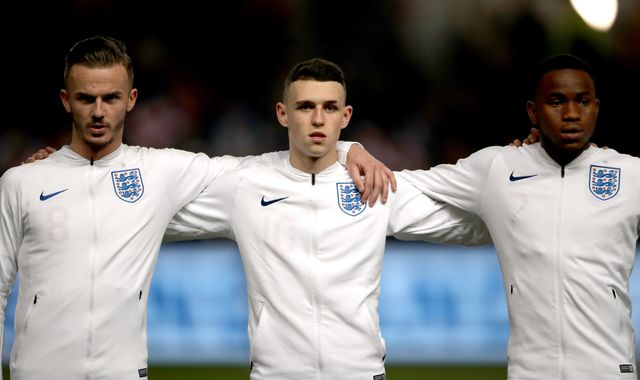 Phil Foden and James Maddison in England U21 Euro 2019 squad