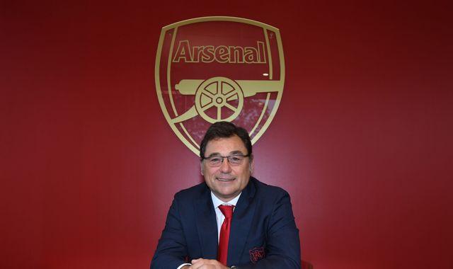 Arsenal have transfer market ammunition, says Raul Sanllehi