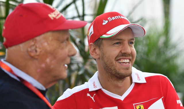 Sebastian Vettel says F1 lost 'icon' in Niki Lauda as drivers pay respects