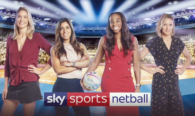 Sky Sports Netball and Sky Sports YouTube to cover every game of Vitality World Cup