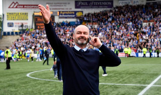 Kilmarnock boss Steve Clarke makes end-of-season speech amid Scotland speculation