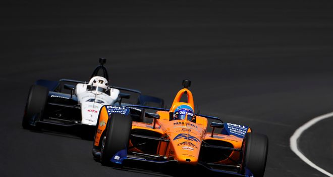 Fernando Alonso suffered a huge crash during the Indianapolis 500 practice session, but walked away from the incident unscathed