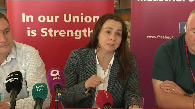 Susan Fitzgerald of the Unite union