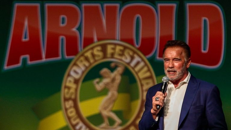 Arnold Schwarzenegger attacked by 'fan' in South Africa