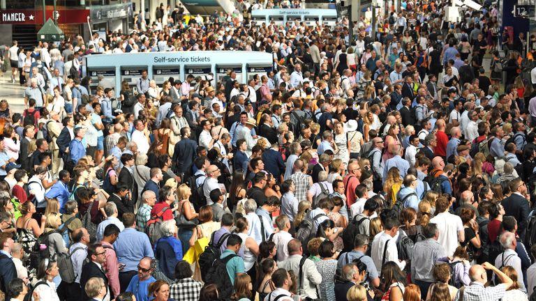 Delays have affected 8.1m passenger journeys