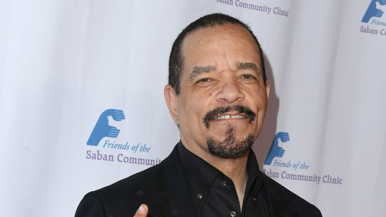 BEVERLY HILLS, CA - NOVEMBER 12:  Ice-T attends Friends Of The Saban Community Clinic's 42nd Annual Gala at The Beverly Hilton Hotel on November 12, 2018 in Beverly Hills, California.  (Photo by Jon Kopaloff/Getty Images)