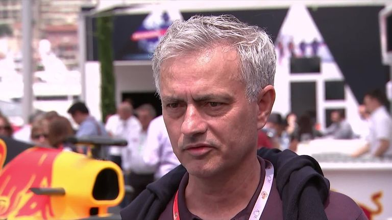 Jose Mourinho unsure on next job when asked at Monaco Grand Prix | Football News |