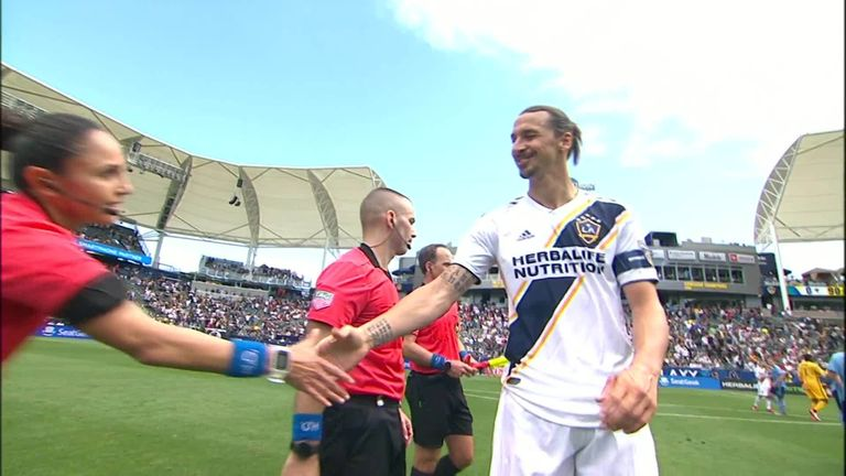 Major League Soccer: Zlatan Ibrahimovic suspended for violent conduct