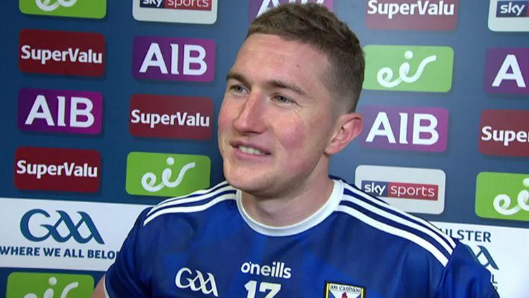 Kiernan spoke to Sky Sports after Cavan's win over Monaghan