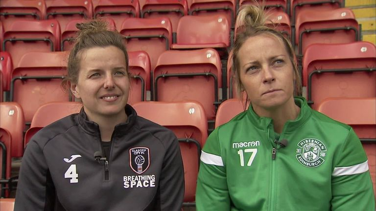Scotland internationals Hayley Lauder and Joelle Murray say there is a real buzz ahead of this summer's Women's World Cup and insists they are not just there to make up the numbers