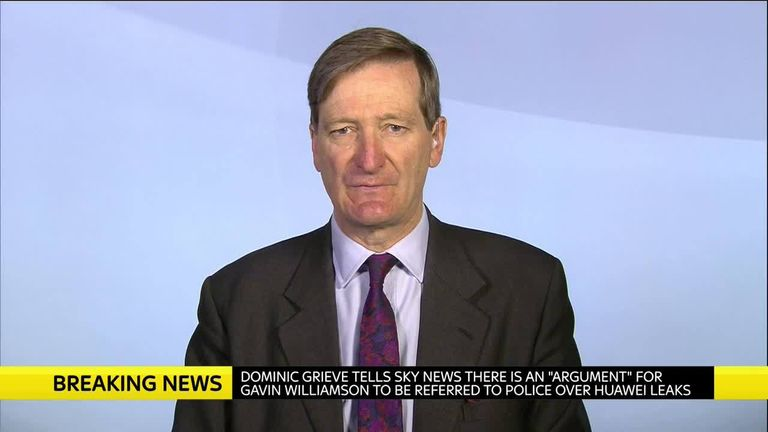 Former attorney general Dominic Grieve MP.