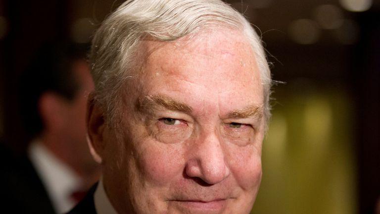 Former media mogul Conrad Black