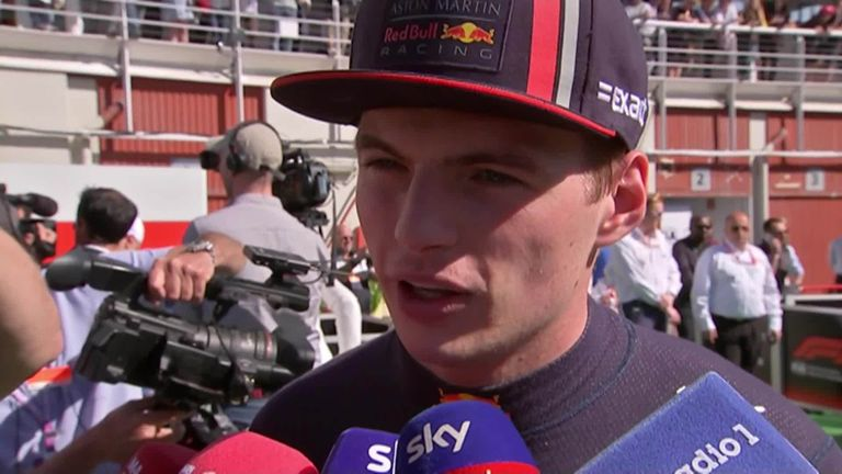 d4356053f56d Red Bull hail  remarkable  Max Verstappen after Spain podium