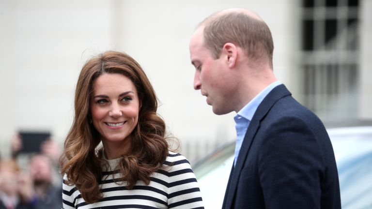Prince William says he is 'absolutely delighted' to become an uncle