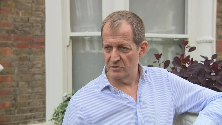 Former Labour spin doctor Alastair Campbell defends his decision not to vote for the party in the European elections.