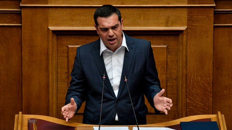 Greek prime minister Alexis Tsipras has called for an early national election