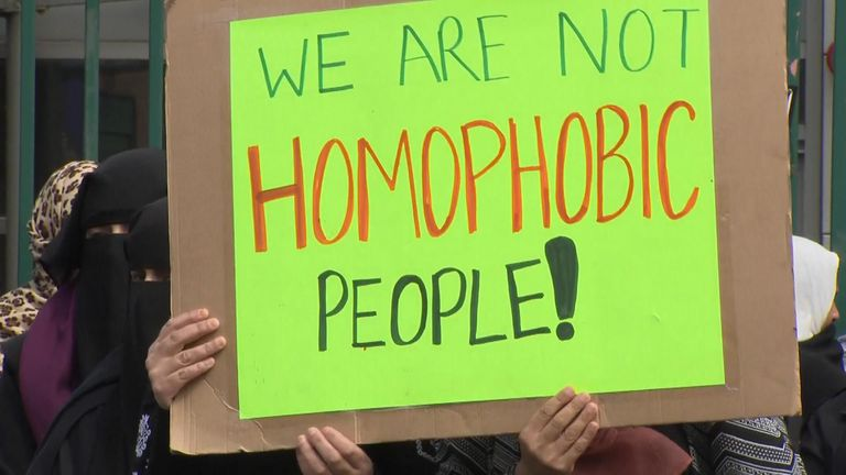 No place' for anti-LGBT protests outside Birmingham school