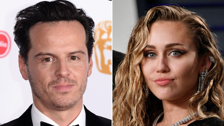 Fleabag's 'hot priest' and singer Miley Cyrus are among the stars revealed to feature in the new season