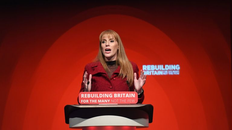 Angela Rayner has said 'climate change should be a core part of the school curriculum'
