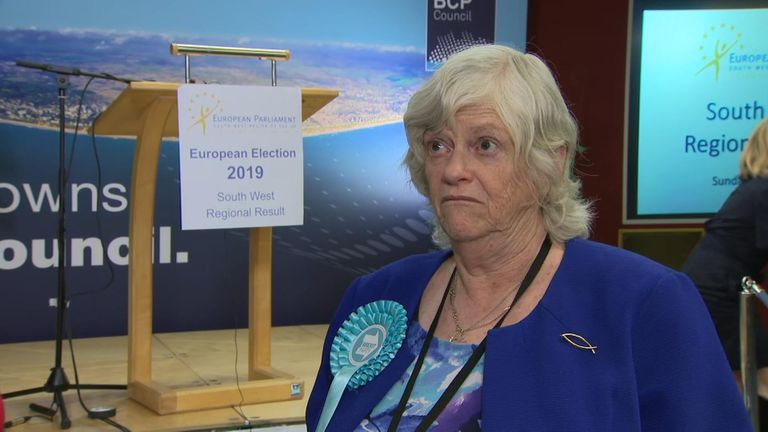 "Ann Widdecombe MEP says ""people are fed up"" and only voted for the Brexit Party because they want Brexit delivered."
