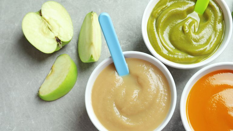 The baby food has been deemed safe to eat but not up to standard