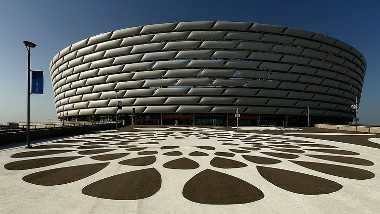 The Europa League final will take place at the Baku Olympic Stadium in Azerbaijan